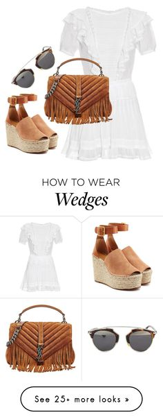 """Untitled #366"" by linnodman on Polyvore featuring Étoile Isabel Marant, Yves Saint Laurent, Chloé and Christian Dior"