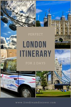 Ultimate 2 Days in London Itinerary, TRAVEL, So you've only got 2 days in London and you're looking for the perfect London itinerary? Well, here it is! Luckily, although 2 days in London is n. Backpacking Europe, Europe Travel Guide, Travel Guides, Europe Budget, Travelling Europe, Europe Destinations, London Travel, Travel Uk, London England Travel