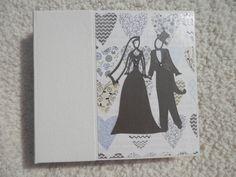 Wedding scrapbook by SimplyMemories on Etsy. 6x6 Chipboard Album