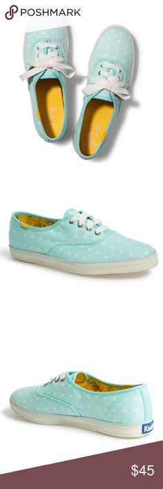 NEW-Keds Taylor Swift Polka Dot Sneaker (women's) Brand new in size 7.5 women's. An iconic sneaker gets a Taylor Swift-worthy update in playful mixed-scale polka dots. True to size. Perfect with summer dresses  or pair it with causal jeans  sold out online , sorry no box but will pack in a different shoe box when ship.  Lace-up style. Textile upper and lining/rubber sole. By Keds; imported. Keds Shoes Sneakers