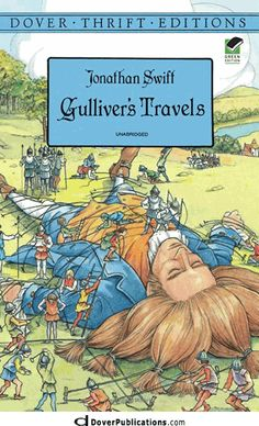 Gulliver's Travels, books Ginger will be reading in 10th Grade Literature. I've read this book.