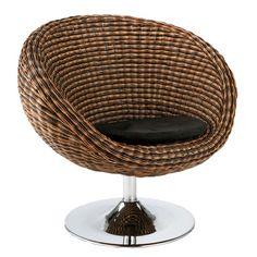 Cadman Woven Chair BLACK/BROWN #apt2blabor
