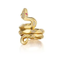 snake rings | Mimi So Couture Cleopatra Snake Ring