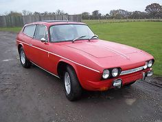 1972  Reliant Scimitar Gte Red Overdrive    - http://classiccarsunder1000.com/archives/20803