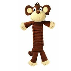 KONG BENDEEZ MONKEY LARGE 12 INCH TOY - BD Luxe Dogs & Supplies