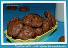 Biscuits soufflés, croustillants et fondants à la fois