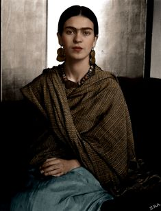 "Frida Kahlo July 6, 1907 - July 13,1954 "" I never paint dreams or nightmares. I paint my own reality. """