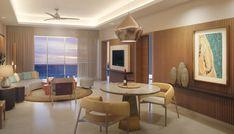 Serenity Club two bedroom ocean front suite.
