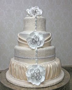 Fabulous Wedding Cakes, Wedding Wedding Cake, Wedding Cake Reviews - Project Wedding