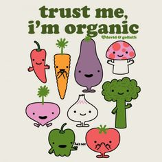 I mean, should we really trust things that are organic?!  #thatseverything #carbonbased