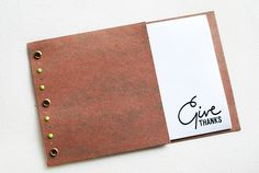 Journaling Thanks by wildolive, via Flickr