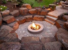 21 Awesome Sunken Fire Pit Ideas To Steal for Cozy Nights