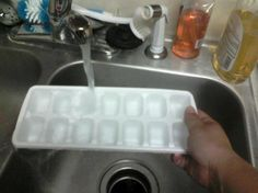 How to make Ice Cubes from Food.com. Be sure to read the comments! ---- this is a fail. Who honestly doesn't know how to make ice cubes?!?!