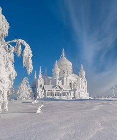 A Russian Winter... Belogorskiy monastery