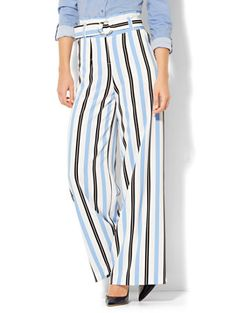 Shop 7th Avenue Pant - Palazzo - Stripe. Find your perfect size online at the best price at New York & Company.