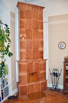 m high tile stove. Stoves, Tile, Handmade, Mosaics, Hand Made, Skillets, Stove, Bakeries, Tiles