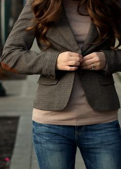 Blazers with elbow patches?  That would be a yes.