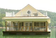 Norris Lake Floating Houses | Norris Floating Home (4 Bdrm, Sleep 11) at Flat Hollow Marina