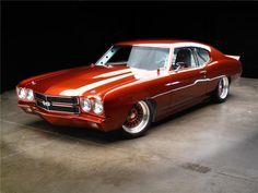 1970 Chevrolet Chevelle Custom 2 Door Coupe