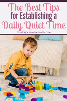 Most moms know their family would benefit from a quiet time.but how do you get your kids to comply? How do you get started? We have had a regular quiet time for years and I would love to share with you all my tips! Quiet Time Activities, Learning Activities, Toddler Activities, Quiet Time Boxes, Last Child, How To Start Homeschooling, Working With Children, Benefit, Parenting