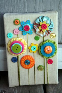 40 Cool Button Craft Projects for 2016