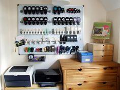 attic craft room ideas | Punch Storage
