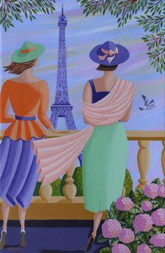 Sophie Sirot - Belles de la Tour Eiffel