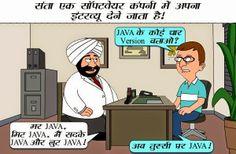 Santa's Funny Interview Picture #hindijokepics #hindijoke