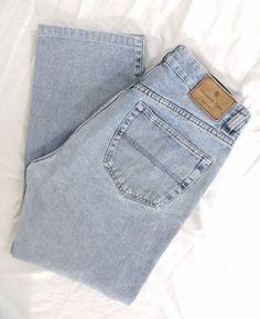 Ermenegildo Zegna Jeans 34 x 29 Loose Relaxed Straight Leg Cotton Denim Italy #ErmenegildoZegna #Relaxed