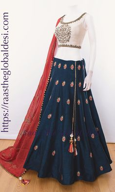 CHOLI-Raas The Global Desi-CHANIYA CHOLI-[chaniya_choli]-[chaniya_choli_online_USA]-[chaniya_choli_for_garba]-[chaniya_choli_for_navratri]-Raas The Global Desi Indian Fashion Dresses, Indian Gowns Dresses, Dress Indian Style, Indian Designer Outfits, Indian Outfits, Indian Wear, Fashion Outfits, Fashion Trends, Choli Designs