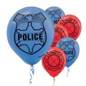 Discount party supplies and Halloween costumes, with thousands of theme party supplies, birthday party supplies, and costumes and accessories. Police Retirement Party, Police Party, Retirement Ideas, Party City Balloons, Lego Balloons, Latex Balloons, Birthday Themes For Boys, Boy First Birthday, Birthday Ideas