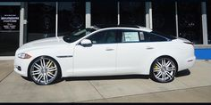 Custom Jaguar XJL On 24 Wheels   Jaguar   White   Xf   car gallery   Forgiato