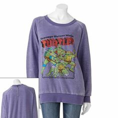 Freeze Teenage Mutant Ninja Turtles Zipper Sweatshirt - Juniors