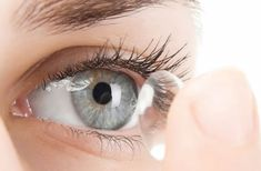 contact lens with visual display
