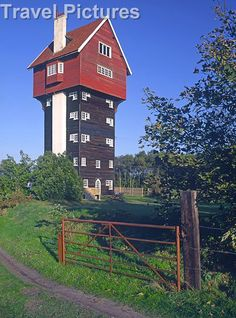 The House in the Clouds, Thorpness England.  An old converted windmill.