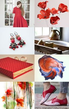 Rustic red by Terracotta Prim on Etsy--Pinned with TreasuryPin.com
