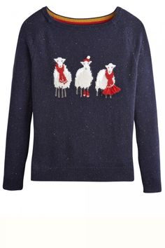 Joules Shawn Sheep Jumper How sweet for a Chrismas jumper!
