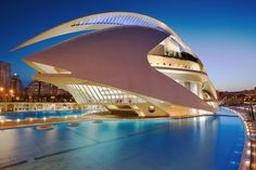 The Valencia Opera House (Queen Sofia Palace of the Arts) - Spain by Eric Rousset on 500px