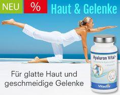 Hyaluron Vital+ für glatte Haut und geschmeidige Gelenke- Hyaluronsäure Kapseln von www.feelgood-shop.com