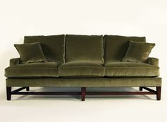 Highland Sofa-love the velvet and love the color