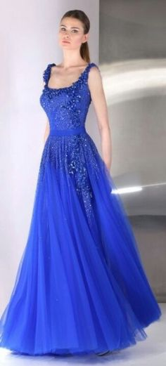 Sparkly Blue Gown
