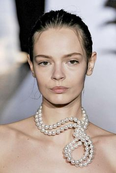 Stella McCartney Pearl Necklace  #InStyle