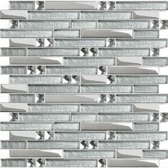 Wholesale Crystal Glass Tile Mosaic sticker silver diamond Interlocking Tiles Mirror Wall designs Discount Tile Backsplash ideas - other details