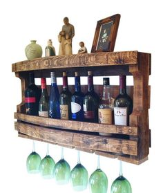 Hand Made Napa Valley Reclaimed Wine Barrel Wine Rack