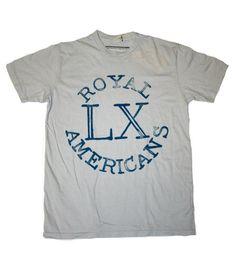 Declaration - Royal Americans Tee $28.00