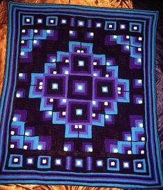 Blog post: Pattern - Mandala crochet blanket - The Spotlight Inspiration Room | Australia .  For C maybe.