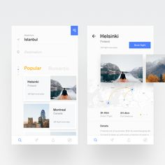 Travel booking app large