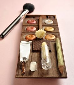 Palette Gourmande de Christophe Roussel / food design - design culinaire Plus Christophe Roussel, Weird Food, Crazy Food, Chocolate Packaging, Food Concept, Food Industry, Kakao, Molecular Gastronomy, Food Design