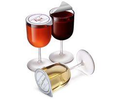 Single serve wine