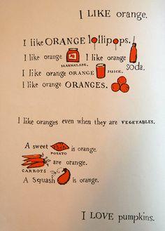 Who doesn't love orange?!